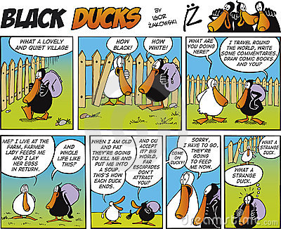 Black Ducks Comic Strip episode 4