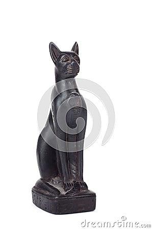 Black Egyptian cat