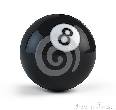 Black Eight billiard ball