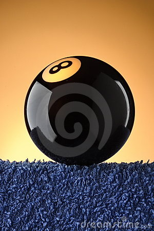 Black Eight Pool Ball