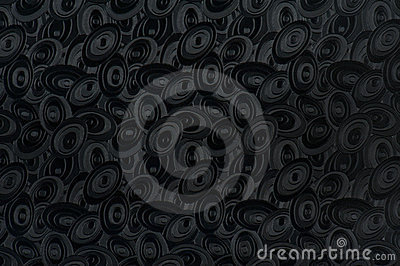 Black elliptic background