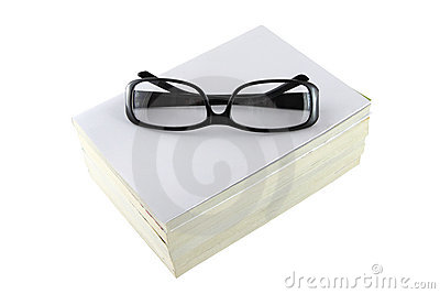Black eye glasses frame