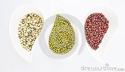 Black Eyed Peas, Mung, Azuki Bean II
