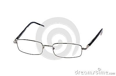 Black eyeglasses