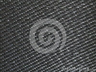 Black fabric pattern