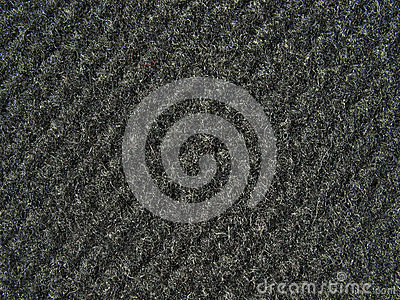 Black fabric texture - thick woolen cloth