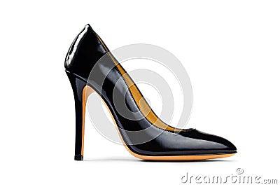 Black female shoe -3