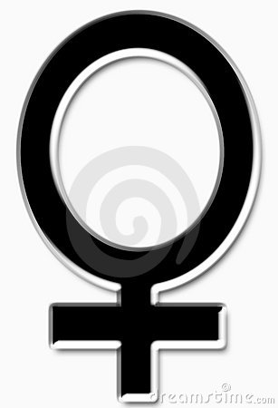 Black female symbol