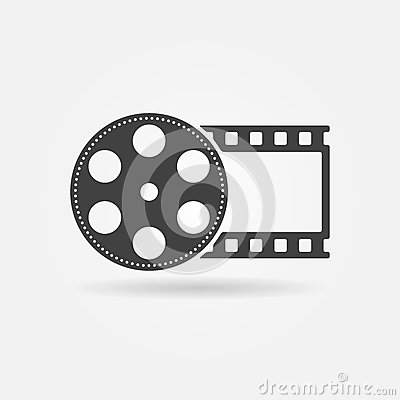 Free Black Film Roll Logo Or Icon Royalty Free Stock Photos - 51187508