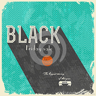 Black Friday Calligraphic Designs / vintage style