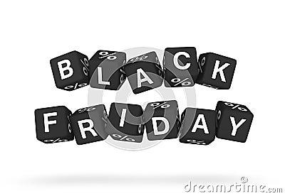 Black Friday design element