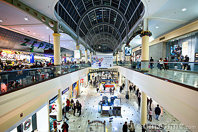Black Friday Holiday Shopping Editorial Stock Image