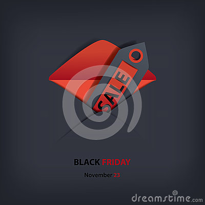 Black Friday sales invitation
