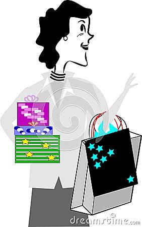 Black friday shopper