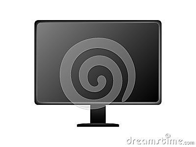 Black Generic Flat Screen