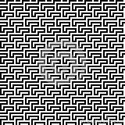 Black geometric lines background
