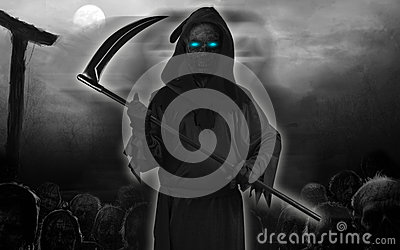 Black Ghost isolated