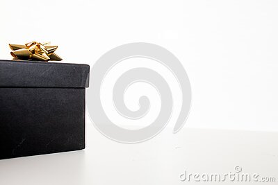 Black Gift Box Free Public Domain Cc0 Image