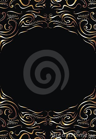 Black and gold background 03