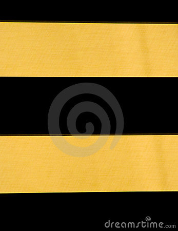 Black and Gold Horizontal Stripes