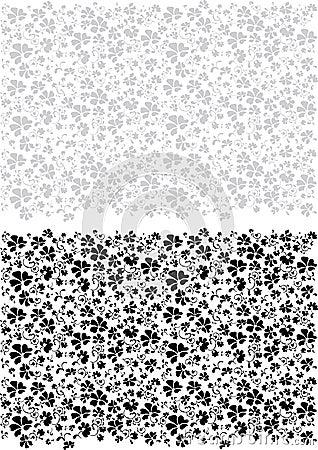 Black gray pattern