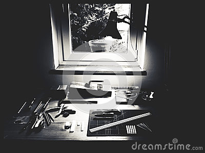 Black And Gray Photography Of Tools Free Public Domain Cc0 Image