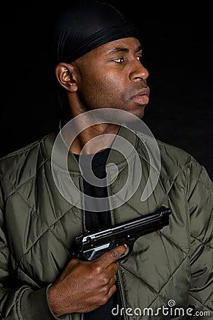 Black Gun Boy