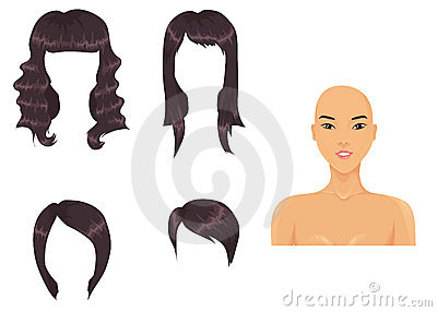 Black hair assortment