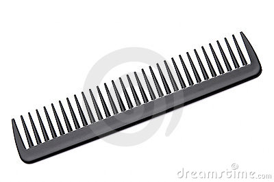 Black Hair Comb