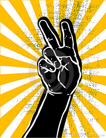 Black hand- victory