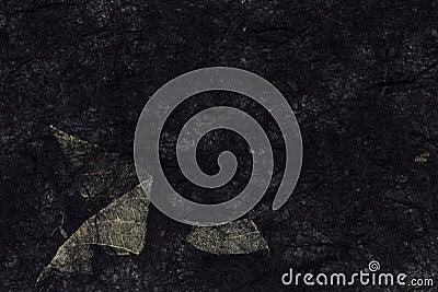 Black handmade blank straw background