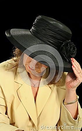 Black Hat Woman 3