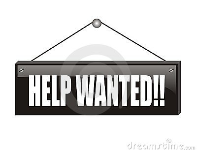 Black help wanted