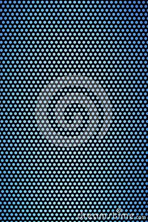 Black Hole Grid With Light Blue Holes Stock Photo - Image ...