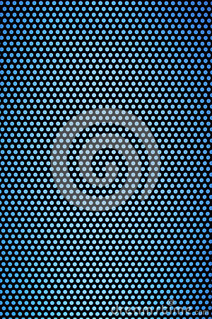 Free Black Hole Grid With Light Blue Holes Royalty Free Stock Images - 44068549