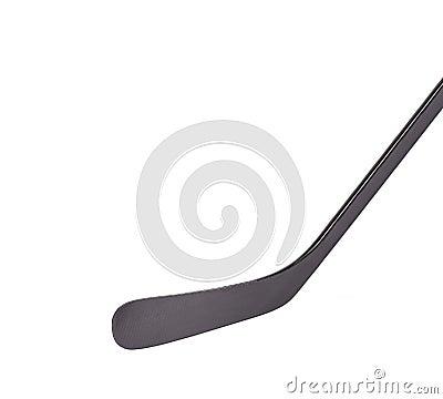 Black ice hockey stick
