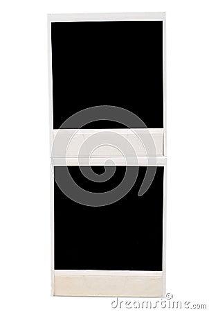 Black instant photo frames