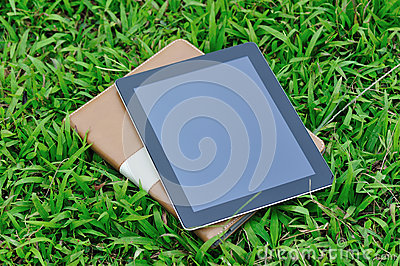 Black ipad and protect case
