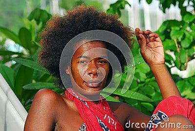Black Italian Woman