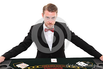 Black Jack dealer