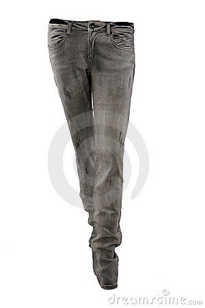 Black jeans trousers