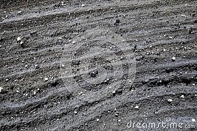Black Lava Rock Design