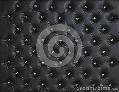 BLACK LEATHER DIAMOND STUDDED LUXURY BACKGROUND
