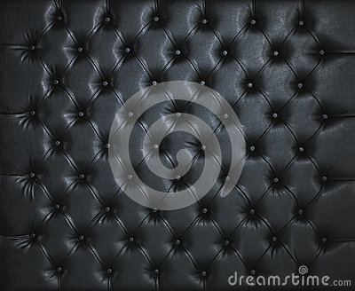 BLACK LEATHER PADDED STUDDED LUXURY BACKGROUND