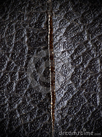 Black Leather With Vertical Cut Stock Photo - Image: 20812290