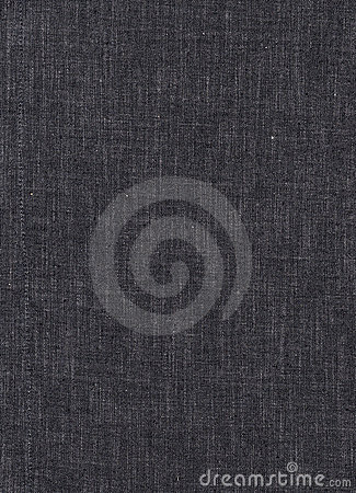 Black Linen Texture Background