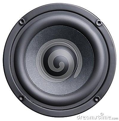 Free Black Loudspeaker Stock Photos - 9797353