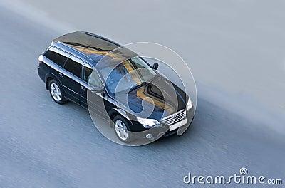 Black luxury japanese car