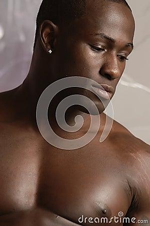 Black male portrait