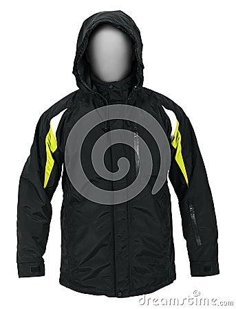 Black male sport jacket